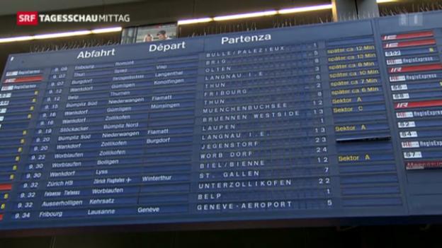Video «Stellwerkstoerung in Bern» abspielen