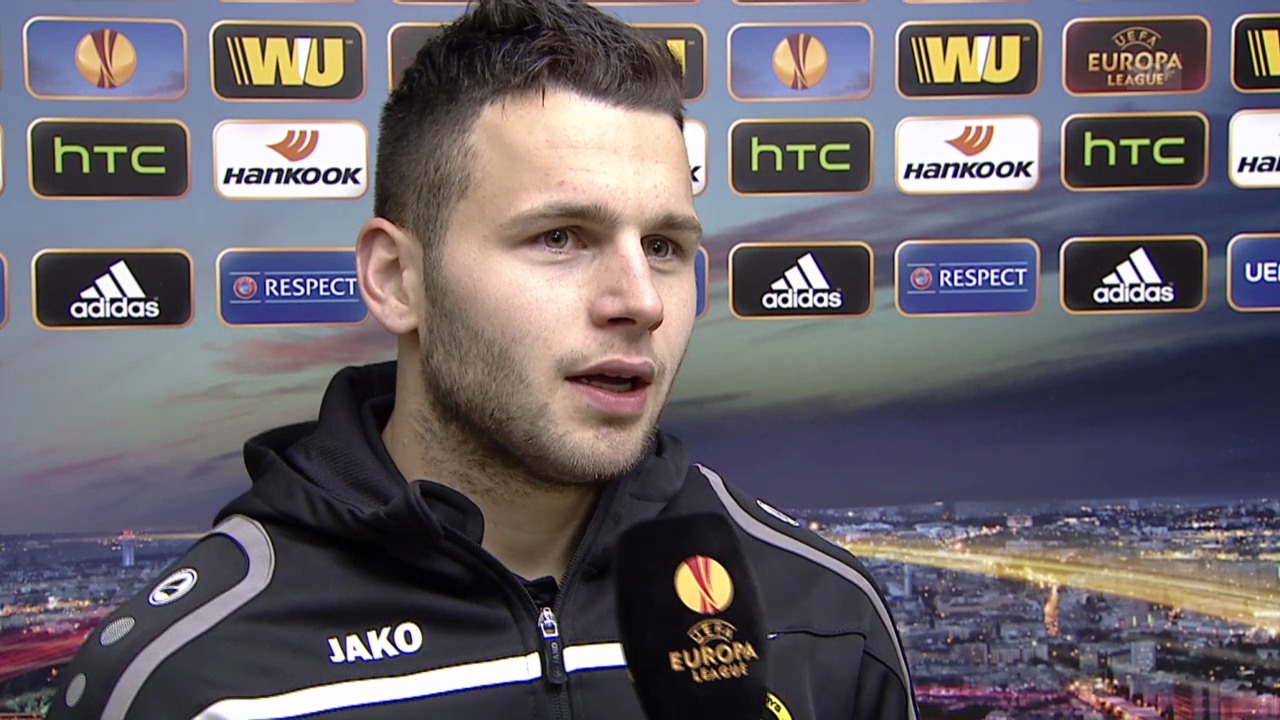 Fussball: Europa League, Bratislava - YB, Interview mit Renato Steffen
