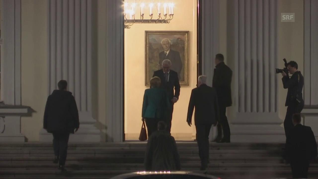 Gespräch beim Bundespräsidenten