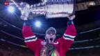Video «Eishockey: Chicago Blackhawks gewinnen Stanley Cup» abspielen