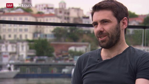 Video «Im Gespräch: Ivan Ergic, der Marx lesende Ex-Star des FC Basel» abspielen