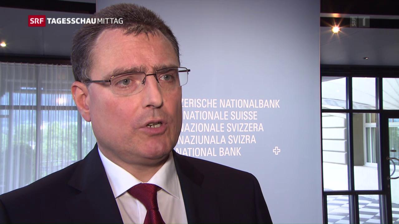 SNB will nicht schwarzmalen