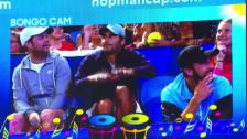 Video «Federer brilliert bei der «Bongo-Cam»» abspielen