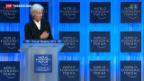 Video «Bundesrätliche Offensive hinter den WEF-Kulissen» abspielen