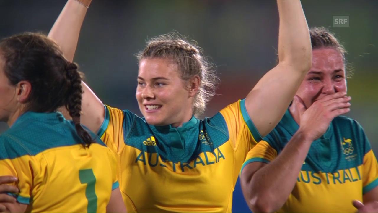 Australiens Frauen gewinnen Rugby-Gold