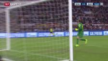 Video «Fussball: CL, Tor Florenzi Roma - Barcelona» abspielen