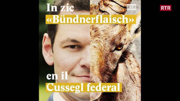 """Laschar ir video «In zic """"Bündnerflaisch"""" en il Cussegl federal»"""