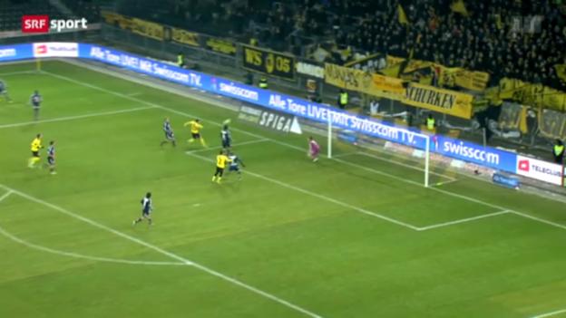 Video «SL: YB-Luzern» abspielen