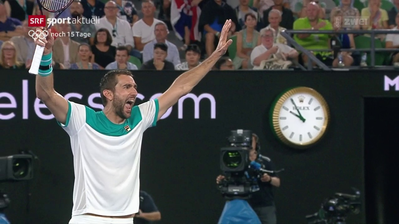 Tennis: Cilic im Australian-Open-Final