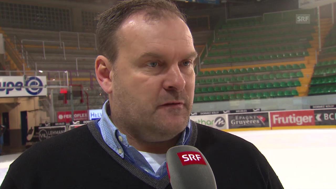 Eishockey: Florian Conz und Heinz Ehlers im Interview («sportaktuell», 4.3.2014)