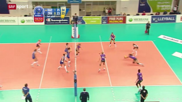 Video «Volleyball: Champions League, Kasan - Volero» abspielen