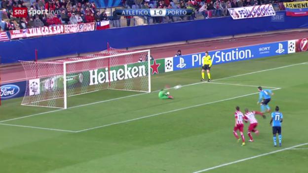 Video «Fussball: CL, Atletico - Porto («sportlive», 11.12.2013)» abspielen