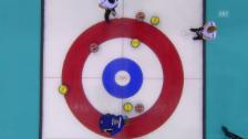 Video «Curling: Halbfinal Sotschi, SUI-SWE, die letzten beiden Steine (sotschi direkt, 19.2.14)» abspielen
