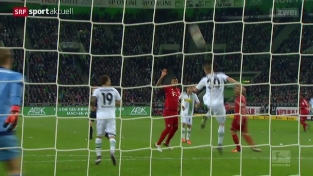 Video «Fussball: Assist Elvedi» abspielen