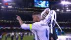 Video «Real Madrid erhält erneut den CL-Pokal» abspielen
