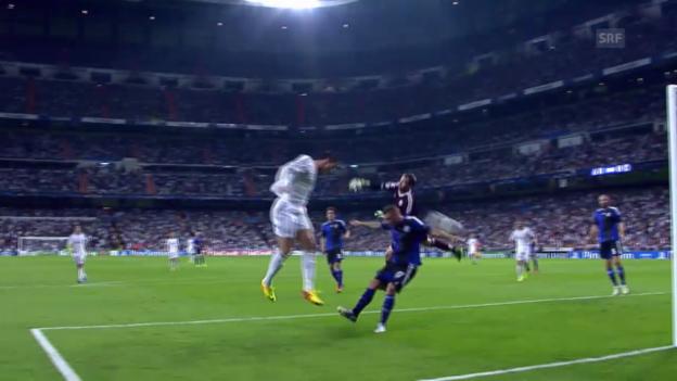 Video «Fussball: Real Madrid - Kopenhagen» abspielen