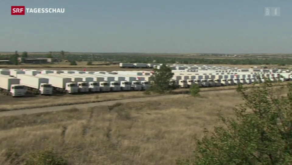Nervosität an der russisch-ukrainischen Grenze