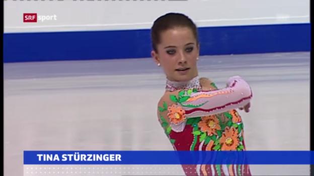 Video «Eiskunstlauf: EM in Zagreb» abspielen