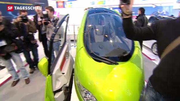 Video «Eröffnung des Automobilsalons 2012» abspielen
