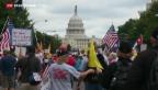 Video «USA stimmen unbegrenzter Schuldenerhöhung zu» abspielen