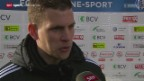 Video «Fussball: Lausanne - Basel, Interview mit Fabian Frei» abspielen