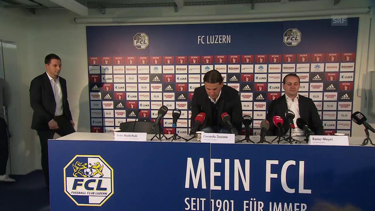 Seoane neuer Cheftrainer beim FCL