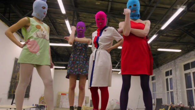 Video «Pussy Riot – A Punk Prayer» abspielen