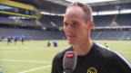 Video «YB-Captain Von Bergen über Schachtar Donezk» abspielen