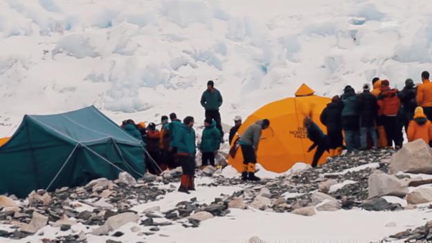 Video «Drama auf 6400 Metern» abspielen