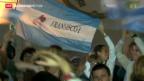 Video «Südamerika feiert den Papst» abspielen