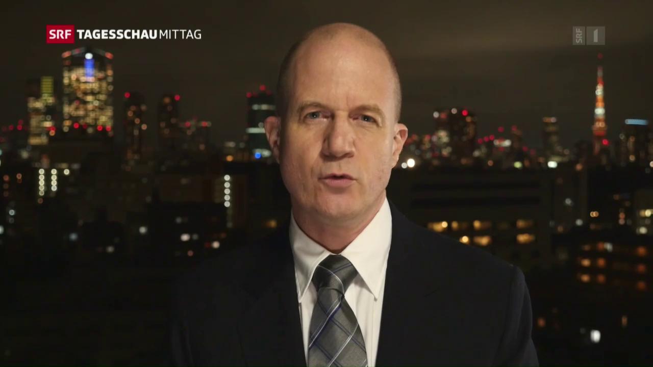 Einschätzung von Japan-Korrespondent Thomas Stalder