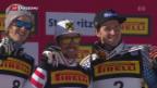 Video «Österreicher dominieren WM-Slalom» abspielen