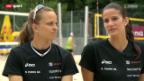 Video «Das Beachvolleyball-Duo Heidrich/Zumkehr» abspielen