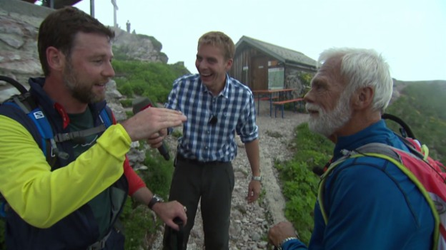 Video «Wettauflösung im Wanderduell» abspielen