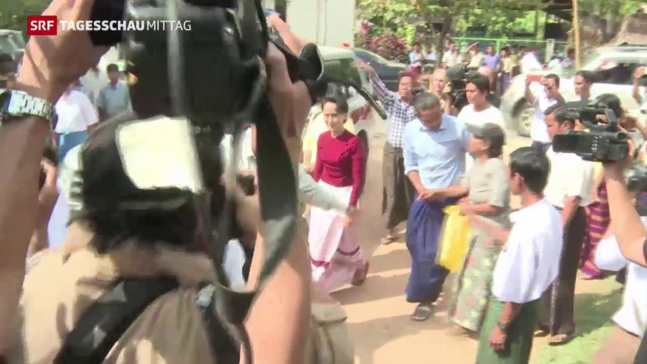 Burma wählt