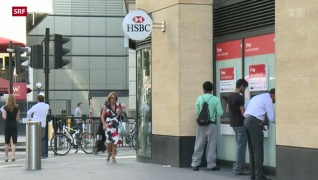 Video «FOKUS: Weniger Banken in der Schweiz» abspielen