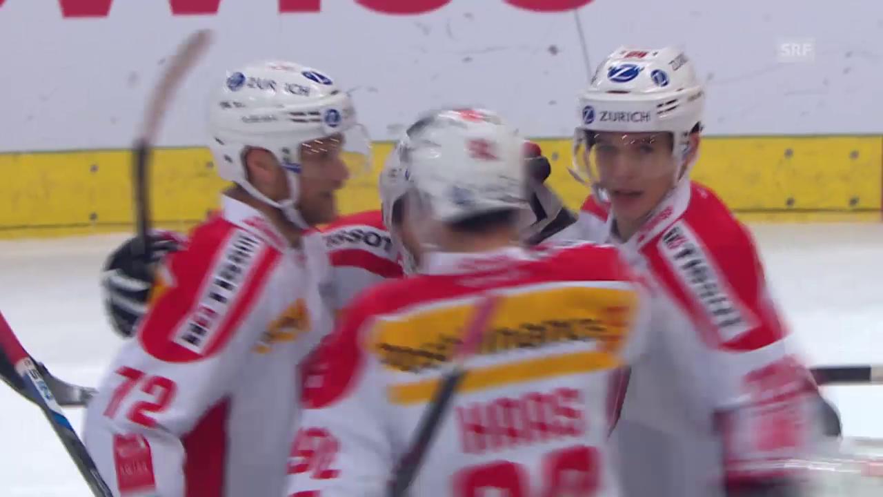 Eishockey: Arosa Challenge, 2:1 Schweiz