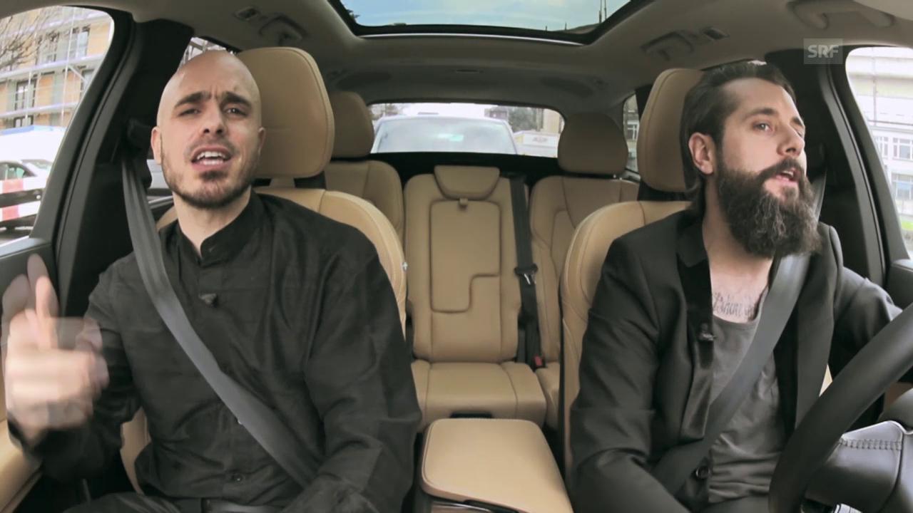 Beifahrer-Karaoke mit Dodo und Andi Rohrer
