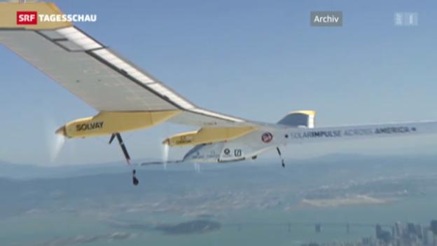 Video «Weiterer Erfolg für «Solar Impulse»» abspielen