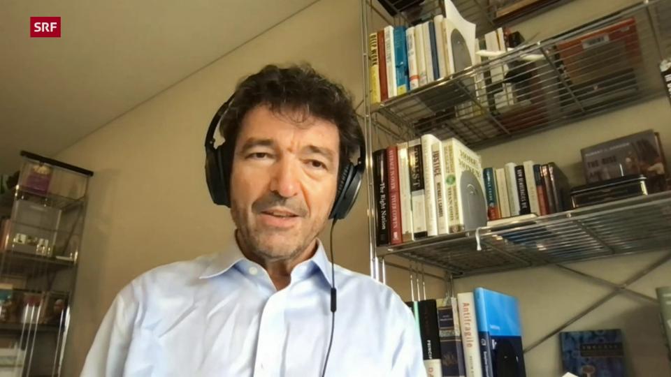 Finanzprofessor Alfred Mettler zum Zeitpunkt des Börsengangs von On