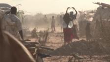 Video «Eindrücke aus dem Flüchtlingslager (unkommentiert)» abspielen
