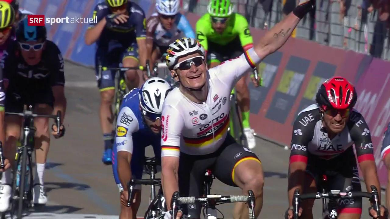 Greipel macht es in der 2. Giro-Etappe besser
