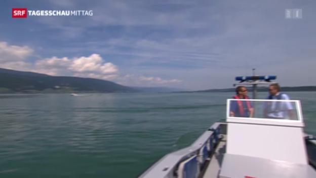Video «Bieler-Bootsdrama kommt vor Gericht» abspielen