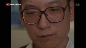 Video «Friedensnobelpreisträger Liu Xiaobo gestorben» abspielen