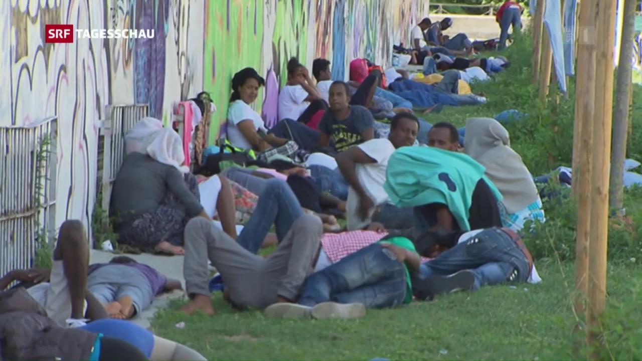 Norditalien und immer mehr Flüchtlinge
