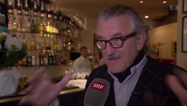 Video «Tausendsassa: Dieter Meier als bildender Künstler» abspielen