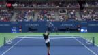 Video «Federer demontiert Kohlschreiber im Achtelfinal» abspielen