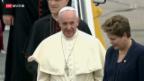 Video «Papst in Rio gelandet» abspielen