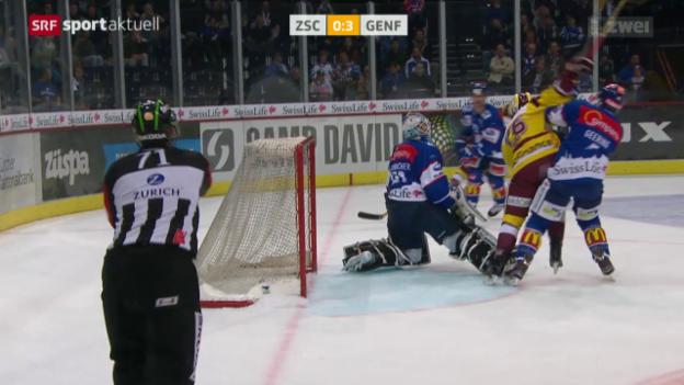 Video «Eishockey: ZSC Lions - Genf» abspielen