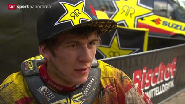 Video «Motocross: Porträt Jeremy Seewer» abspielen